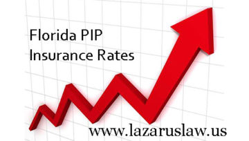 Auto PIP Insurance Rates are Skyrocketing. Why? Fort Lauderdale Auto Accident Attorney