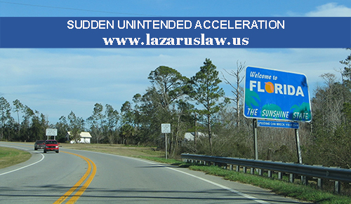 Sudden Unintended Acceleration Fort Lauderdale Accident
