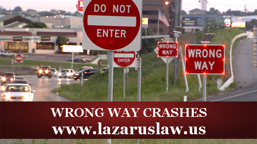Florida Accident Attorneys - Wrong Way Crashes