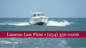 Spring and Summer Means More Boating Traffic, Accidents, and Injuries - South Florida Boating Accident Attorneys