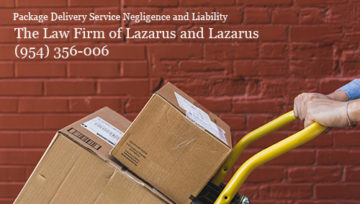 Are Amazon Deliveries Dangerous? South Florida Accident Attorneys Lazarus and Lazarus
