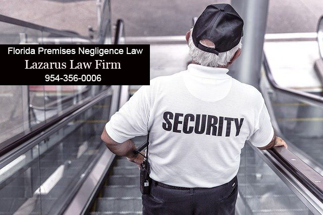 Florida Premises Negligence Law