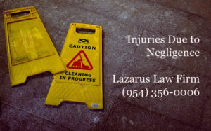 Injuries Due to Negligence Florida