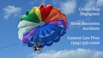 Shore Excursion Accidents and Cruise Ship Negligence - Lazarus Law Firm