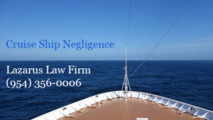 Cruise Ship Accidents and Negligence