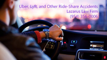 Ride-Share Accident Victims Have Rights - Florida Accident Attorneys Lazarus and Lazarus