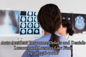 Auto Accident Insurance Delays and Denials