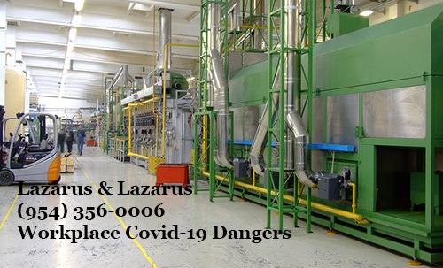 Workplace Covid-19 Dangers
