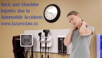 Soft Tissue Neck and Shoulder Injuries due to Rear-End Collisions | Lazarus Law Firm