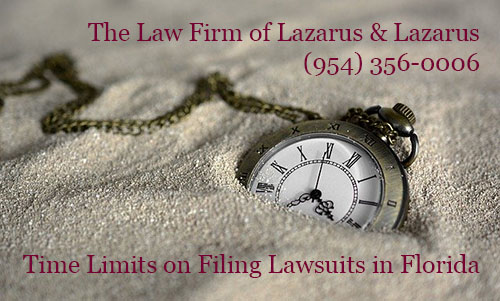 Florida Lawsuit Time Limits